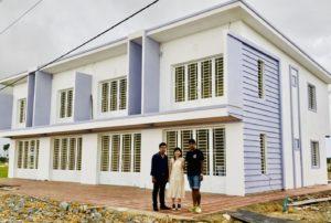 カンボジア3号線住宅建築施工